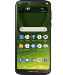 Straight Talk MOTOROLA MOTO G7 Optimo
